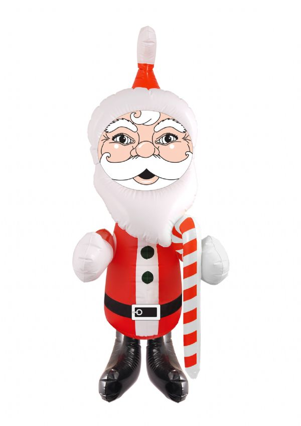 Inflatable Santa Novelty Father Christmas Decoration 120cm